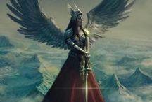 Viking gods and goddesses..