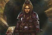 Female warriors...