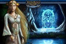 Lord of rings games....