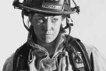 Female firefighters...
