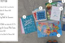 Hit the road Jack... / Ideas for kids for road trips!