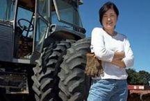 Female farmers...
