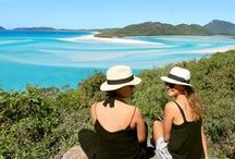 Whitehaven Beach & Hill Inlet / Welcome to one of the most photographed places in Australia, and for good reason.