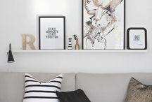 WONEN / Een bord vol inspiratie voor de woonkamer