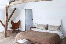 SLAPEN / Een bord vol met inspiratie voor de styling van de slaapkamer.