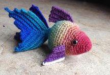 zabawki ptaki ,ryby