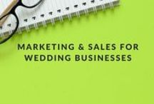 Marketing and Sales for Wedding Businesses / Original content from the WeddingIQ.com blog, on the topic of branding and marketing a successful wedding business and selling to your ideal client. Wedding vendors in every service category can benefit from WeddingIQ's wedding marketing and sales tips, tools and real-world business advice for wedding industry entrepreneurs.