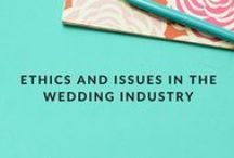 Ethics and Issues in the Wedding Industry / WeddingIQ's blog is practically famous for its original rants and callouts of ethical issues within the wedding industry. Wedding business owners can find real talk about relevant topics on our wedding business blog.