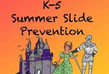 Summer Slide Prevention k-5 / This is a collaborative Board for materials that students are actually eager to do during their vacations.  Pin books and activities that inspire, teach, and reinforce skills. If you would like to contribute to this board follow the board and write me at GrammaElliottCreations@gmail.com.