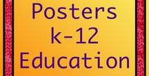 Posters for K-12 Classrooms / Posters - K-12     Find links to printable posters for classrooms, home schooling, and refrigerators.  Inspiration, education, vocabulary, science, math, social studies, rules, art, etc.
