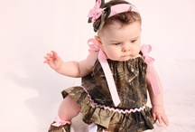 Camo Babies & Kids / Camouflage and babies are adorable together!