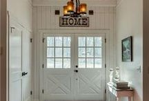 Inspired Rustic Living / Inspiration for next home