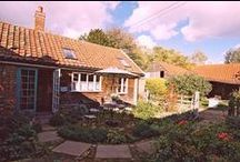 Rose Cottage, Grove farm / This is a really romantic, lovely cottage. With a big open log fire it really is a perfect, cosy base to come home to after exploring beautiful Suffolk.