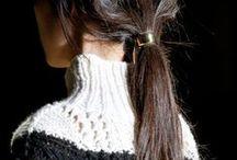 Knit wear.
