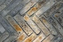material - brick / A collection of images of modern brick architecture used as inspiration for McLean Quinlan house projects