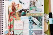 S c r a p ✵ B o o k i n g / Scrap booking inspiration!