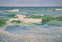 Landscape Art / landscape paintings in pastel, watercolor, oil, and acrylic by various artists