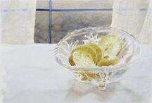Still Life Art / paintings of still lifes and miscellaneous objects