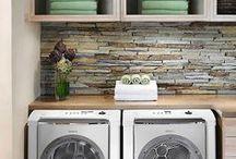Home: Basement // Laundry Room