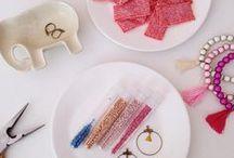 Bijoux DIY ツ / Voici quelques idées pour fabriquer soi-même ses propres bijoux : tutoriels et inspirations