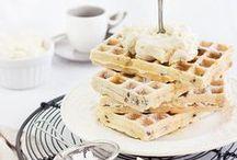 Food: Waffles / Leckere, süße Waffel-Rezepte #waffles #waffeln #recipes #rezepte
