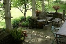 Outdoor Living / Beautiful outdoor living areas. / by Sarah Dale