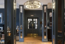 The Roxburghe Hotel, Edinburgh / this georgian hotel interior was refurbished to a high standard, sympathetic to the origins of the building  but with a contemporary twist & subtle scottish interior design influences & influence from a writers, ink, blue design concept.  reception deisgn, lounge design & bar design are all by www.occa-design.com