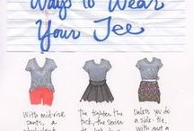 How to... / Differents ways to use clothes!