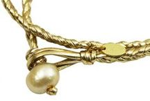 Pearls and Leather / A Simply Marcella signature, the beauty and sophistication of pearls with the pizzazz of leather.