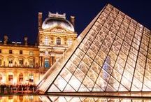 France / Tourist attractions illustrate the history of the human race,  from the prehistoric sites of Cro Magnon to the steel and glass of the Futuroscope; they include fine vestiges of all European civilizations, from the prehistoric megaliths of Carnac and the Roman remains of Provence, through medieval castles and cathedrals, to the splendors of Versailles, the nineteenth century Eiffel Tower, or the resolute modernity of the TGV. / by San Diego Mesa College Study Abroad