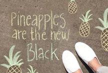 Pineapples/ananananas