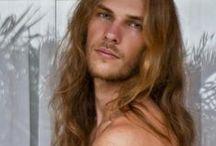 Men + Long hair = I'm freaking out!