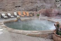 Ojo Caliente Hot Springs / An amazing hot springs resort in the desert of New Mexico.