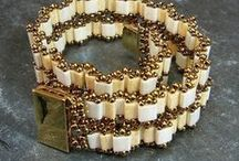 Tile beads, Tila beads / Czech tila beads, Tile beads, Half tile, ...