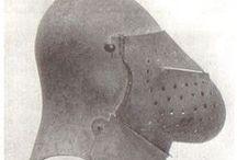 Early 15th C Helmets / Proto-armets, great bascinets etc