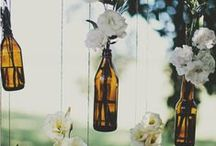 Ways to Re-Use Wine Bottles / Creative ways to re-use your Seven Springs Winery wine bottles when you're finished drinking the wine!