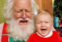 Scared of Santa / Real kids: Scared of Santa Photos