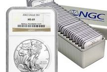NGC Certified Coins / NGC is a reputable grading company that has been authenticating various coins since 1987. They've created industry standards and uphold integrity with all the coins they grade. View our entire collection at BullionExchanges.com or call us at 212-354-1517 if you are looking for something specific.