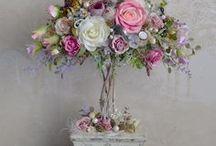 топиарий и цветы