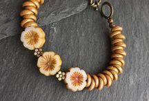 Table cut flower beads