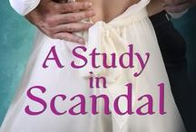 A Study in Scandal / Inspiration for A Study in Scandal (novella in the Scandalous series)
