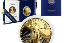 American Gold Eagles / Gold American Eagles are highly appreciated and demanded on the market due to its outstanding and representative design, along with its high gold purity content. Being produced for the first time by the United States Mint back in 1986, in response to the Gold Coin Bullion Act from 1985, the American Golden Eagle quickly became one of the most popular gold coins amongst passionate collectors. Visit BullionExchanges.com to view our entire selection.