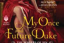 My Once and Future Duke / The first novel in the Wagers of Sin series by Caroline Linden. March 2018 from Avon Books