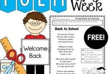 Back To School Ideas and Activities / All things for back to school!