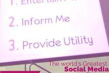 Social Media Tips / Social Media Tips you can use