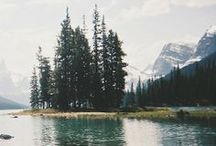 -woods, lakes, + mountains-