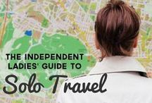 Flying Solo / Where to go and what to do when you're a solo traveler.