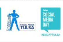 Social Media Day Tulsa #SMDAYTulsa / Social Media Day in Tulsa was the day Social Media Tulsa was born. On June 30, 2010 at Fat Guys burger bar in the historic Greenwood district... a social media community was born. Follow us all over town and the internet #smtulsa