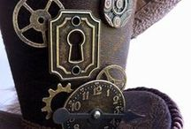 Steampunk Creativity / Locks and Keys have been around for a very long time and so are perfect for all sorts of brilliant Steampunk creations!