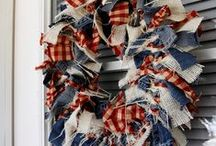 4th of July Decor / Get your home ready for independence day!